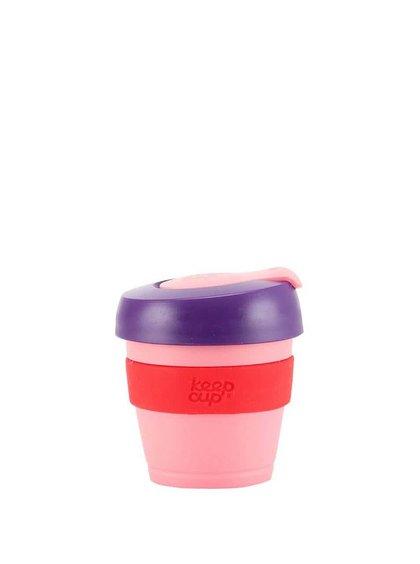 Dizajnérsky cestovný hrnček KeepCup Pink Shadows Extra Small