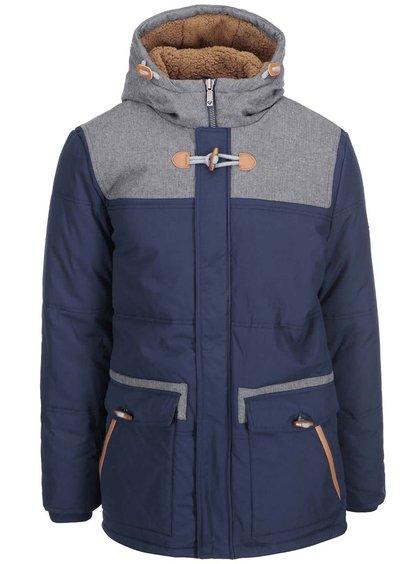 Jachetă Jerry în combinația gri și albastru de la Ragwear