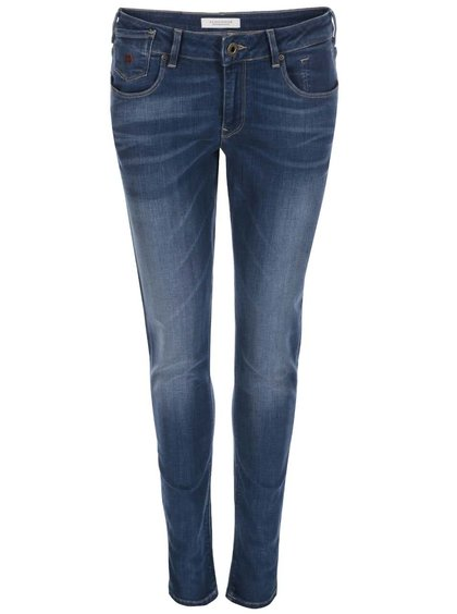 Modré skinny džíny Maison Scotch