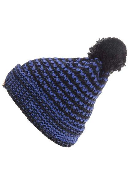 Čierno-modrá pánska čapica s brmbolcom Horsefeathers Hugh
