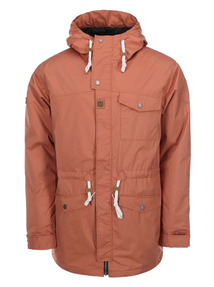 Oranžová pánská zimní bunda Horsefeathers Steam