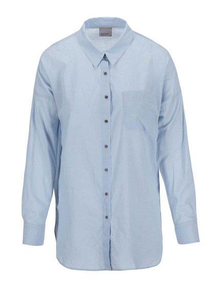 Svetlomodrá košeľa s rozparkami Vero Moda Classic