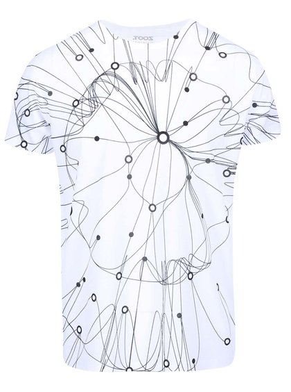 Bílé pánské triko ZOOT Originál Dráty