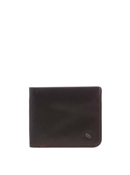 Tmavě hnědá kožená peněženka Bellroy Hide & Seek
