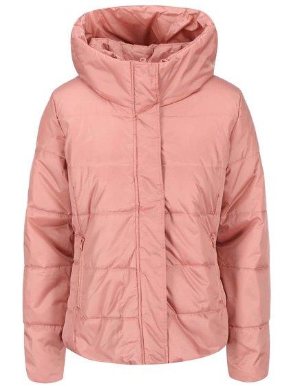 Jachetă cu guler înalt de la ICHI Ursa - roz