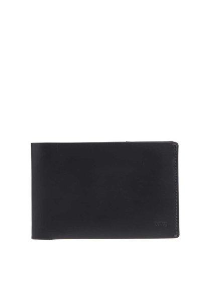 Čierna cestovná kožená peňaženka Bellroy Travel