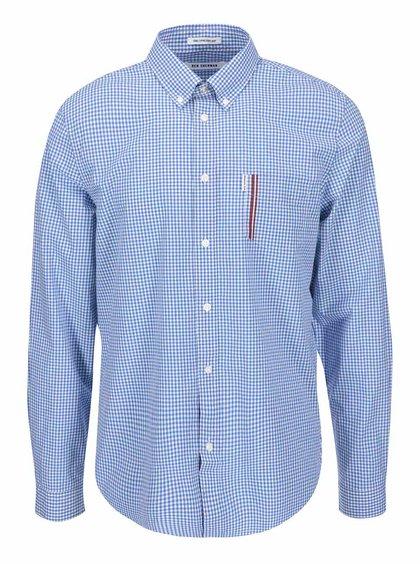 Svetlomodrá kockovaná košeľa Ben Sherman