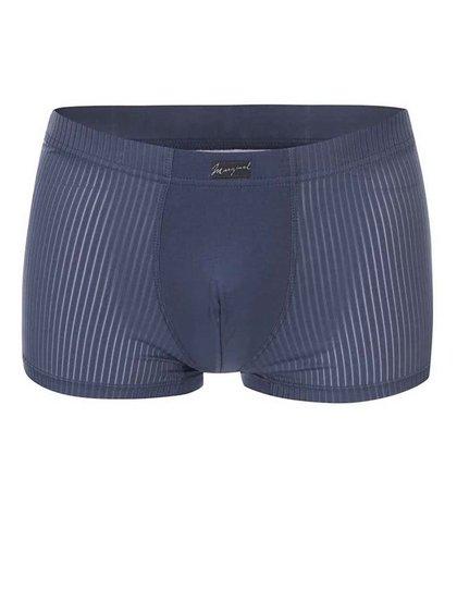 Tmavomodré vzorované boxerky Marginal