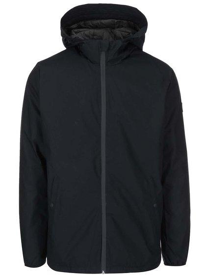 Jachetă cu glugă Jack & Jones Bull - negru