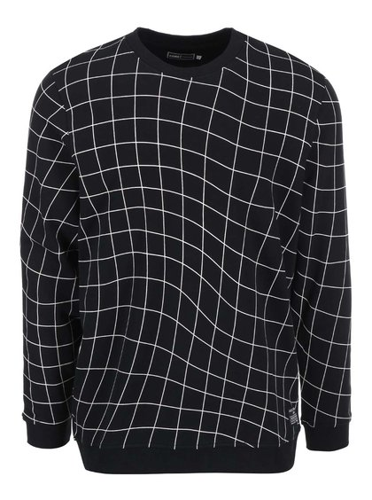 Bluzon cu model geometric Jack & Jones Move - negru