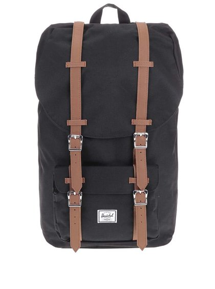 Čierny batoh Herschel Little America 23,5 l