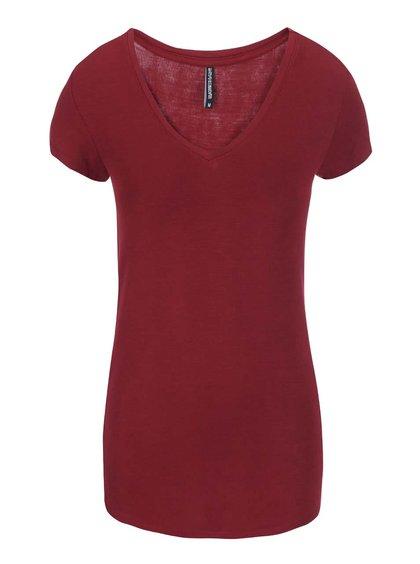 Vínové tričko s krátkým rukávem Haily´s Sophie