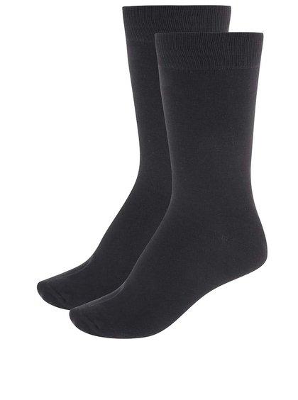 Set de două perechi de șosete negre de la Selected Homme Earl