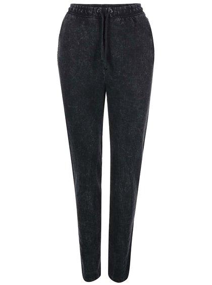 Černé bavlněné kalhoty Desires Ray