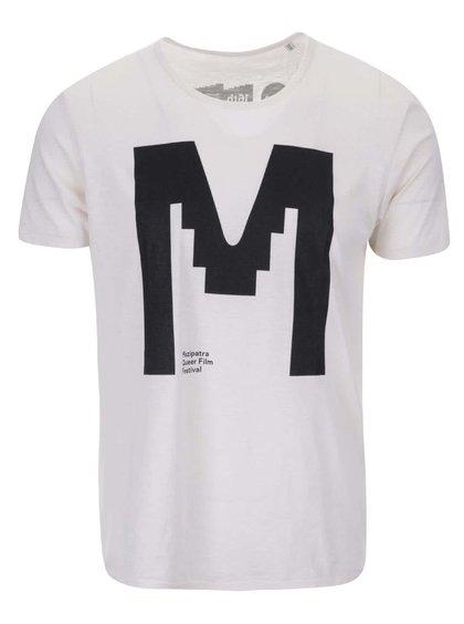 """""""Dobré"""" krémové unisex tričko s potlačou pre Mezipatra"""