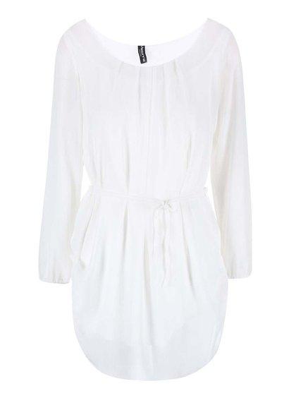Bluză albă lungă MADONNA ANA