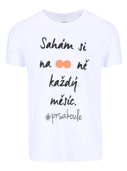 """""""Dobré"""" bílé pánské triko pro Loono"""