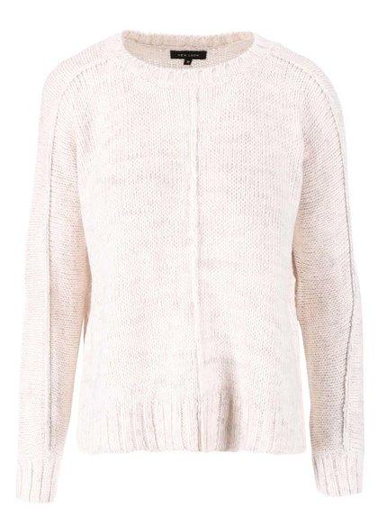 Béžový voľnejší sveter New Look