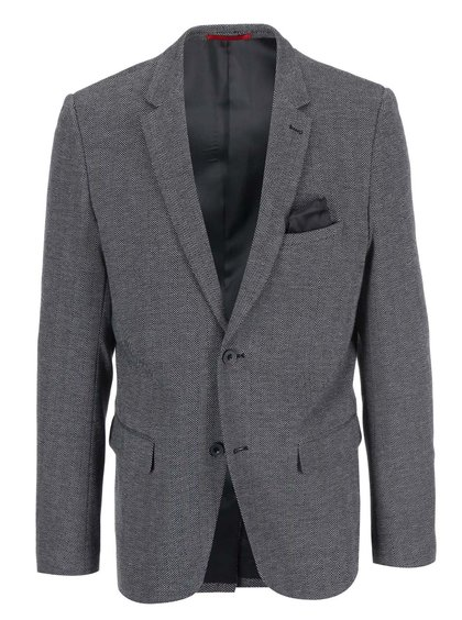 Blazer cu model Casual Friday by Blend - negru și gri