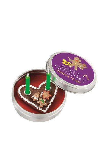 Vianočná sviečka do vrecka Donkey Sweet Christmas