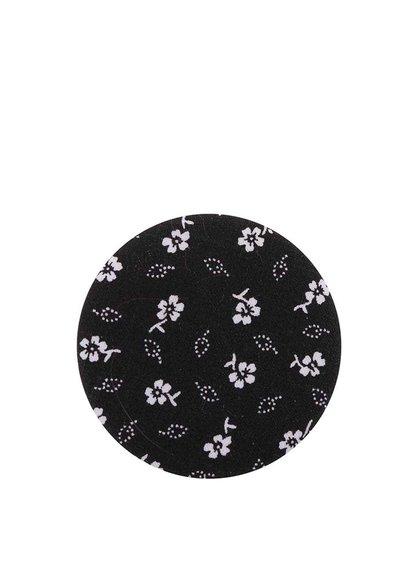 Čierny kvetinový odznak ZOOT Kids
