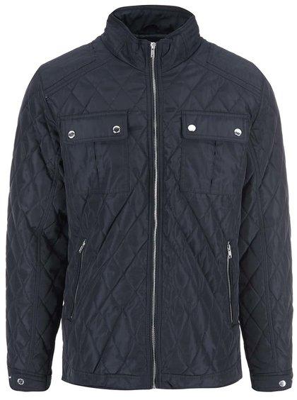 Jachetă matlasată Selected John - bleumarin