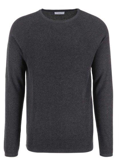 Šedý pánský svetr Selected Homme Cardigan