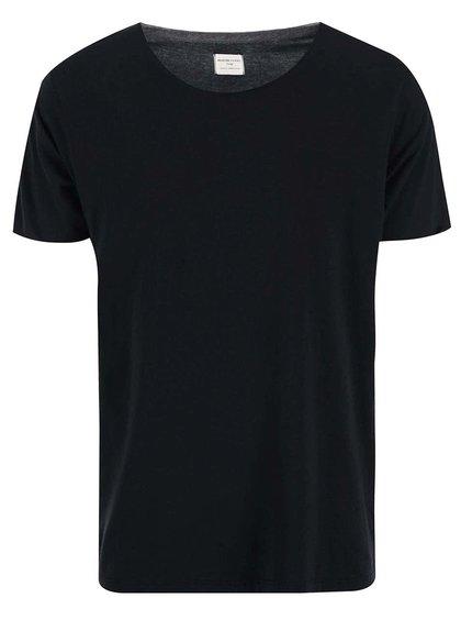 Černé triko Selected Homme Pima