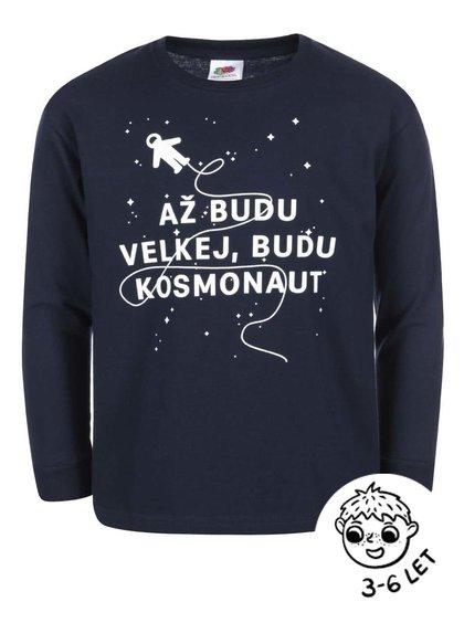 Tmavomodré chlapčenské tričko ZOOT Kids Kosmonaut