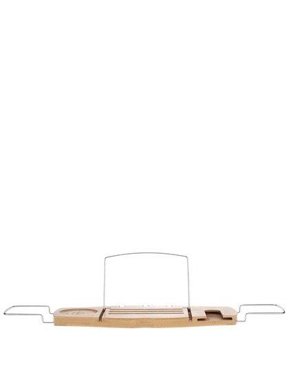Dřevěná polička na vanu Umbra Aquala