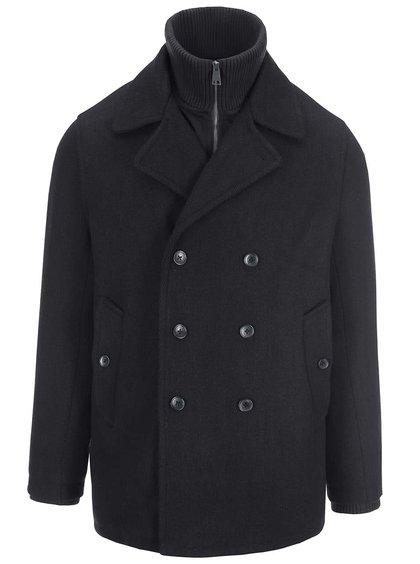 Černý krátký kabát Ben Sherman