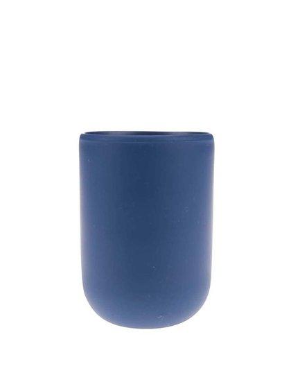 Tmavě modrý kelímek na kartáčky Umbra Touch