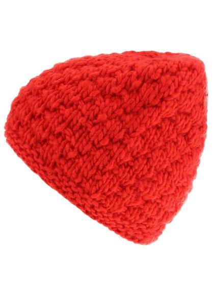 Červená dámska čiapka Burton W Big