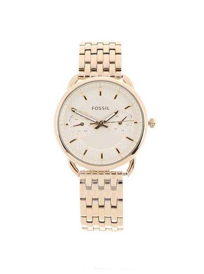 Dámske hodinky v zlatej farbe Fossil Tailor