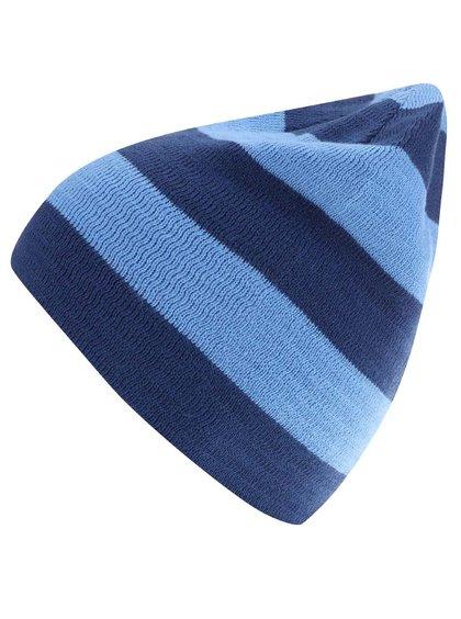 Modrá pánska pruhovaná čiapka Burton Silverman