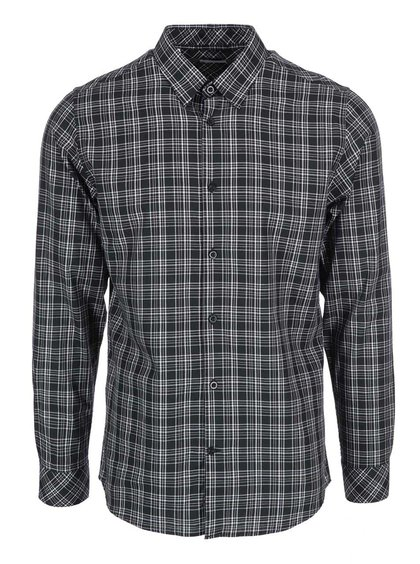 Čierna kockovaná košeľa Selected Homme Joe