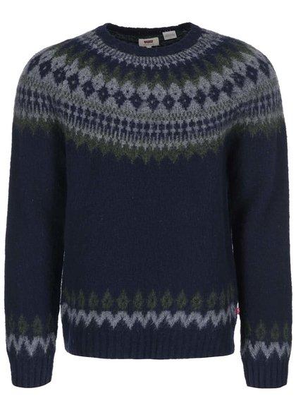 Modrý pánsky vlnený sveter Levi´s®