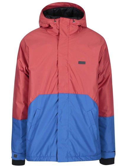 Modro-červená pánská bunda Funstorm Meig