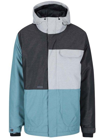 Modro-šedá pánská bunda Funstorm Corb