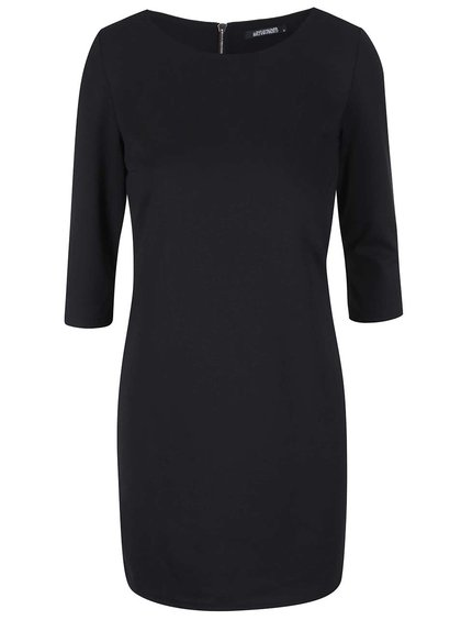 Černé šaty s 3/4 rukávy Haily´s Courtey