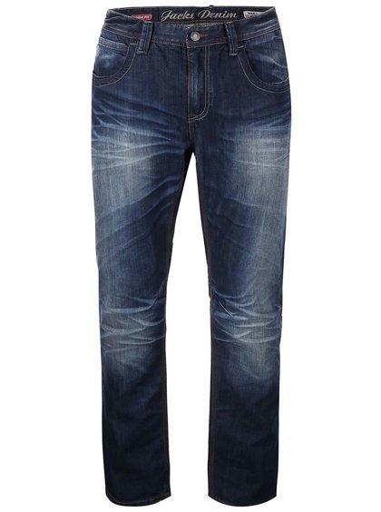 Jeanși bleumarin rupți JACKS