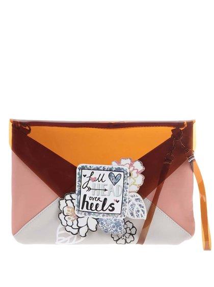 Zamilovaná listová kabelka Disaster Carnaby