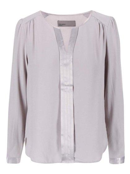 Bluză cu croială lejeră Vero Moda Crystal - gri