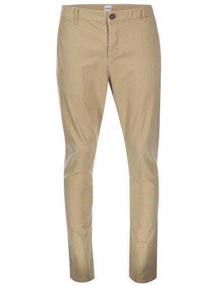 Béžové chino kalhoty ONLY & SONS Cale