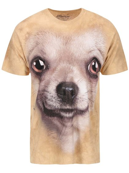 Tricou unisex Chihuahua, de la The Mountain