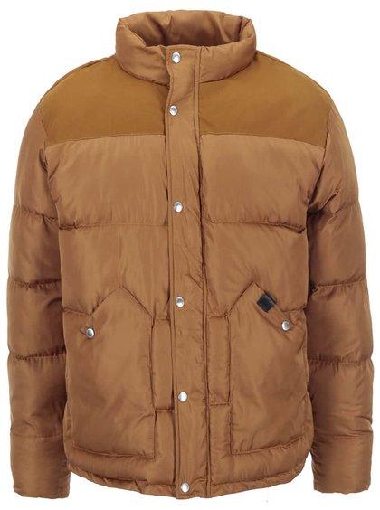 Hnedá zimná bunda Fat Moose Canada