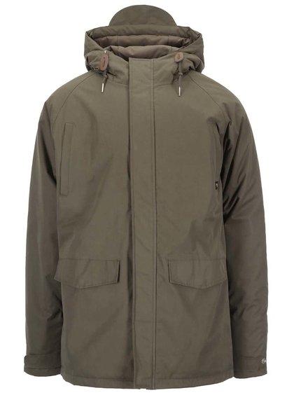 Khaki zimní bunda Fat Moose Motion