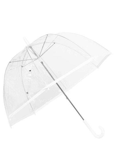 Plastový dáždnik s bielym okrajom Lindy Lou