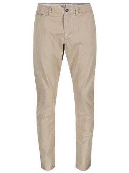 Pantaloni Cody bej model chino de la Jack & Jones