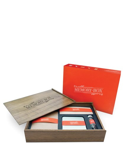 Luckies Wooden Memory Box